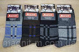 """Чоловічі зимові шкарпетки """"Алія"""". Собача шерсть на махре. №608."""