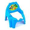Детский горшок - кресло с крышкой ТехноК 4074 голубой   горшок для ребенка