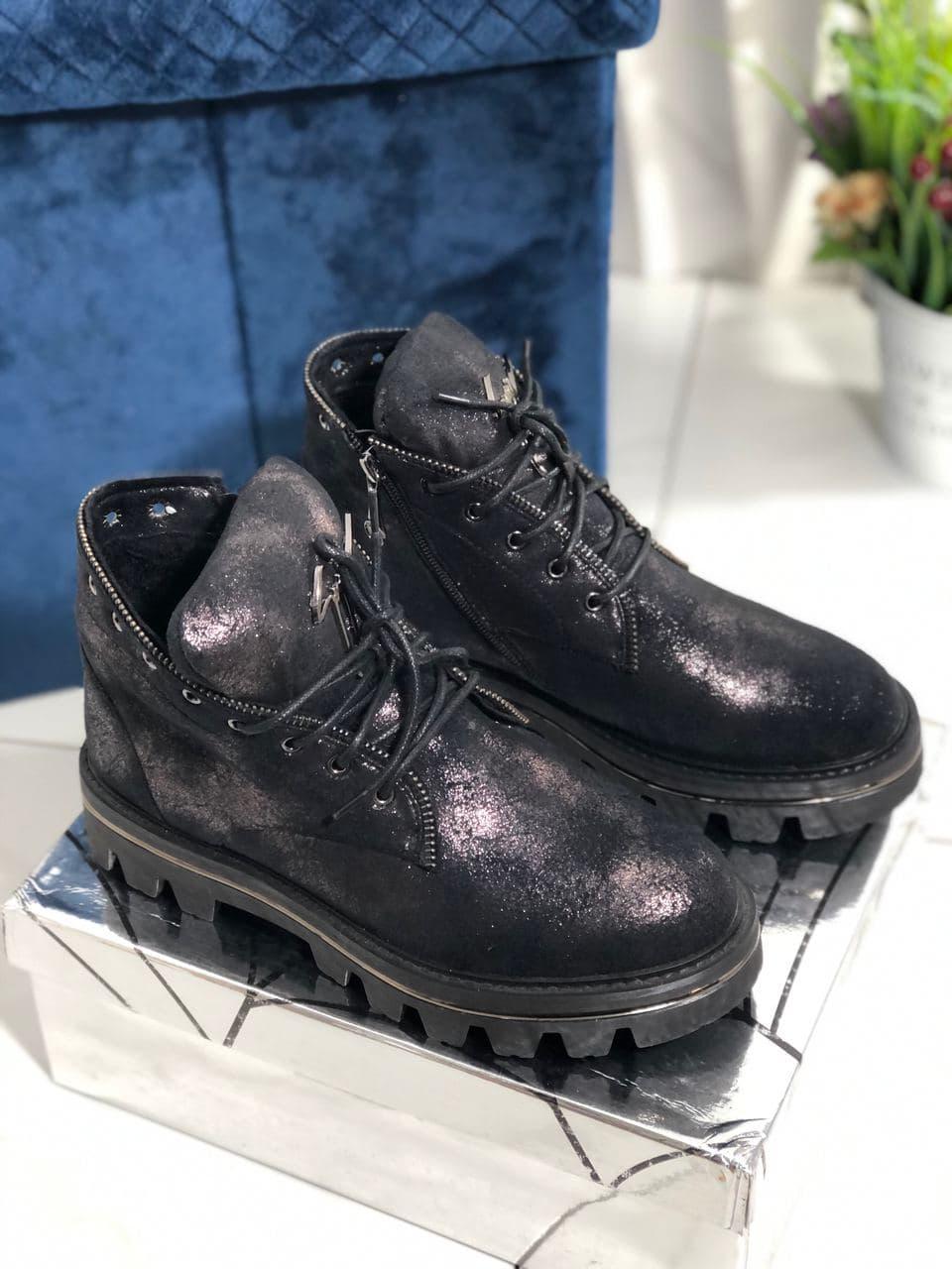 Зимові черевики на високій підошві Vensi V5