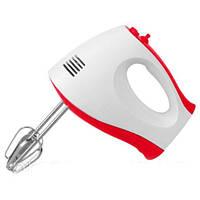 Ручной кухонный миксер WimpeX WX-435 на 7 скоростей, венчики для взбивания, венчики для замеса теста, фото 1