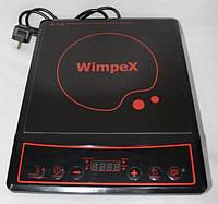 Электроплита индукционная WimpeX WX-1323 (2000 W) | Плита электрическая, фото 1