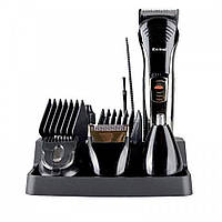 Профессиональная машинка для стрижки волос с насадками Kemei LFQ-KM-590A | триммер для волос, фото 1