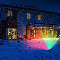 Лазерный проектор для дома с пультом Holiday laser Laser Light | гирлянда Star Shower, фото 1
