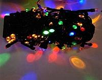 Гирлянда линза 100LED 9м Микс (RD-7159), Новогодняя бахрама, Светодиодная гирлянда, Уличная гирлянда, фото 1
