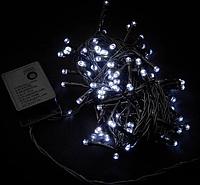 Гирлянда 100LED 10м (Ø 3,3) (флеш) (контрол.220V), Новогодняя бахрама, Светодиодная гирлянда RD-7097, фото 1