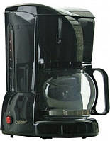 Кавоварка, крапельна MAESTRO MR-401 чорна   кофемашина Маестро, Маестро (800 Вт, на 10-12 чашок, з, фото 1