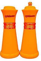 Набор соль/перец MAESTRO MR-1626 оранжевый | набор для специй Маэстро | солонка и перечница Маестро, фото 1