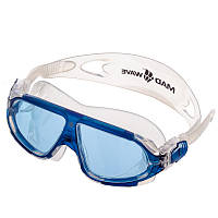 Очки-полумаска для плавания MadWave SIGHT II (поликарбонат, термопластичная резина, силикон)