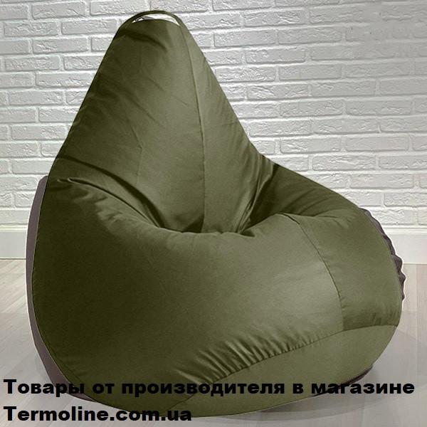 Кресло груша Jolly-S 60см детская хаки