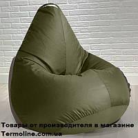 Кресло груша Jolly-S 60см детская хаки, фото 1