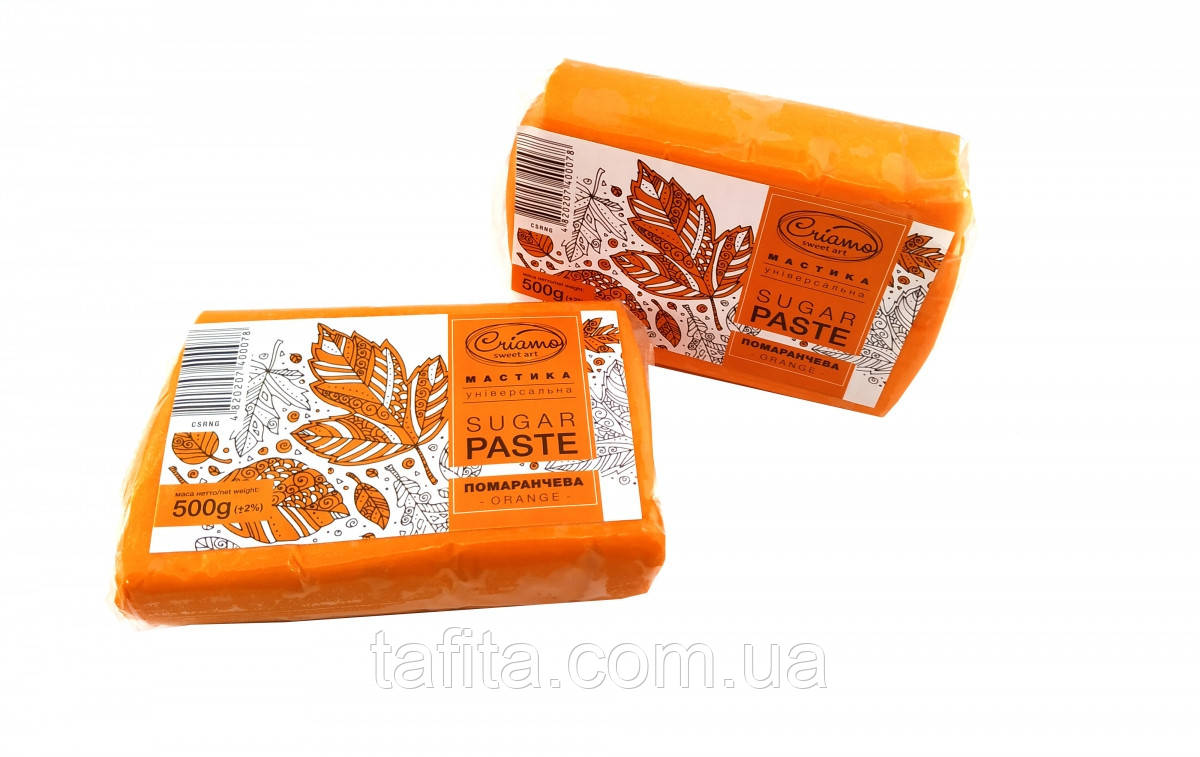 Мастика оранжевая Criamo
