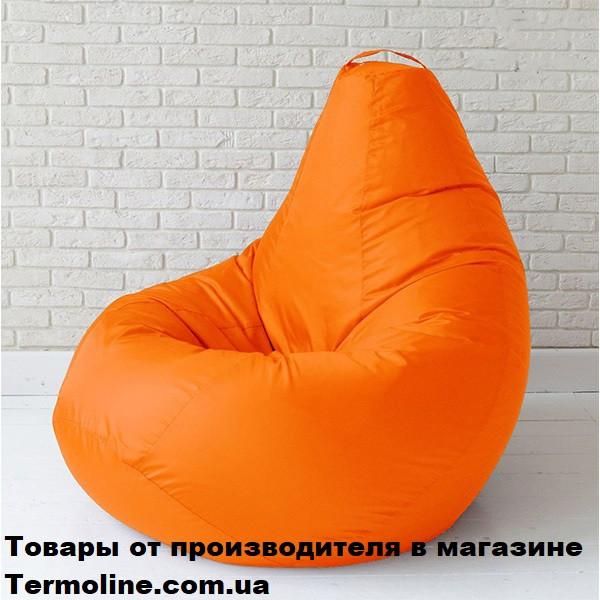 Кресло груша Jolly-S 60см детская оранжевая