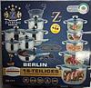 Набор посуды Zinberg ZB 777 на 18 предметов из нержавеющей стали