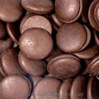 """Шоколадная глазурь """"Диски коричневые"""" 100 г."""