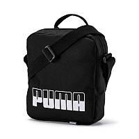 Сумка органайзер Puma Plus Portable II 076061 01 (черный, спортивный, тканевый, полиэстер, логотип пума)