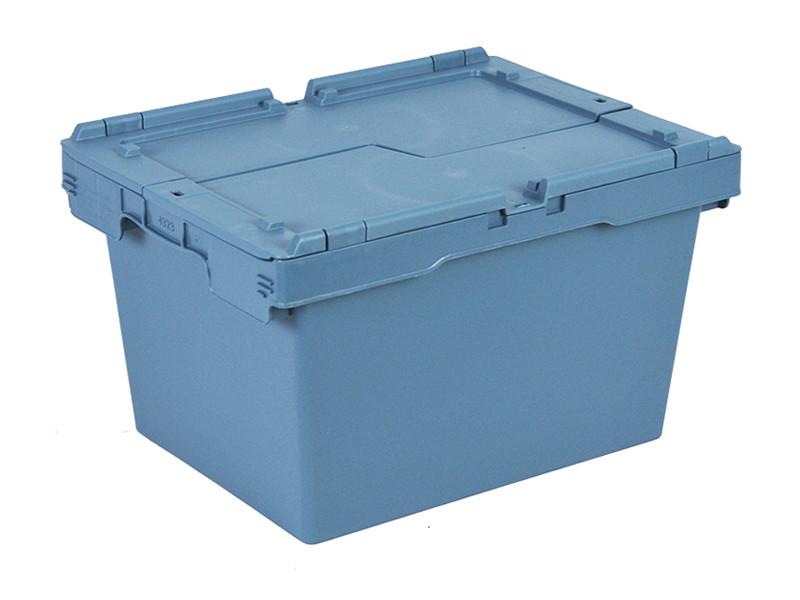 Пластиковый ящик  с крышкой ALC 400х300х240 мм