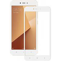 Скло 5D Xiaomi Redmi Note 5a Білий