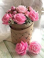"""Набір мила """"Кошик троянд"""", фото 1"""