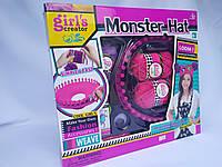 """Детский набор для вязания """"Monster Hat"""", станок, крючок, иглы, нитки"""