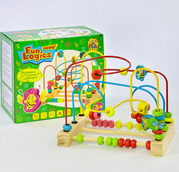 Деревянная игра лабиринт.Развивающая игра лабиринт.Деревянная игрушка лабиринт для малышей