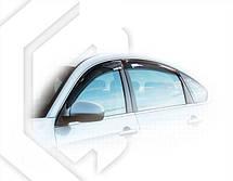 Дефлекторы окон Nissan Almera (G11) Sd 2012   Ветровики Ниссан Альмера