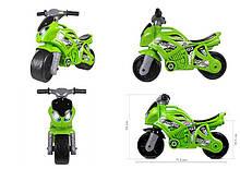 Игрушка Мотоцикл зеленый