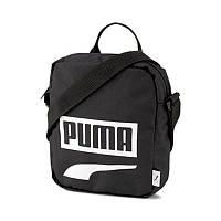 Сумка органайзер Puma Plus Portable II 076061 14 (черный, спортивный, тканевый, полиэстер, логотип пума)