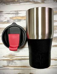 Термокружка металлическая с гравировкой на заказ Stap 02
