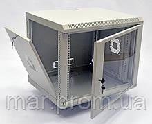 Шкаф 9U, 600х350х507 мм (Ш * Г * В), акриловое стекло, серый