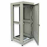 """Шкаф 19 """"28U, 610 х 675 мм (Ш * Г), серый, фото 8"""