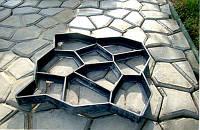 """Форма для садовых дорожек, тротуарной плитки """"Моя дорожка"""" 60х60х6"""