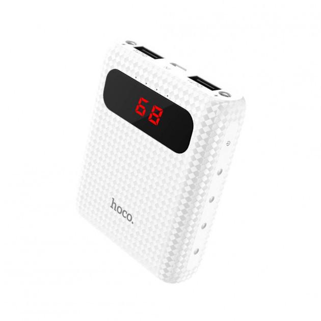 Power Bank Hoco B20 Mige LCD (10000mAh) white