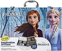 Арт кейс Crayola Inspiration Art Case Frozen 100 шт. (B07P6RFWK4)
