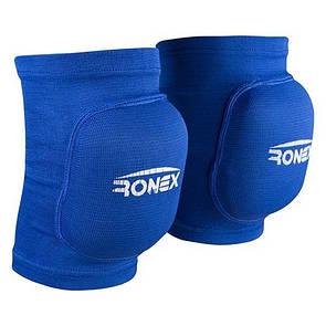 Наколенник волейбольный защитный Ronex RX-075, синий, размер M