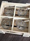 Пьяные стаканы набор для виски 4 штуки, фото 9