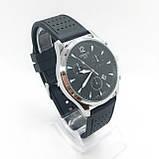 Часы мужские наручные Tiссot, на силиконовом ремешке, цвет серебро ( код: IBW301SB ), фото 2