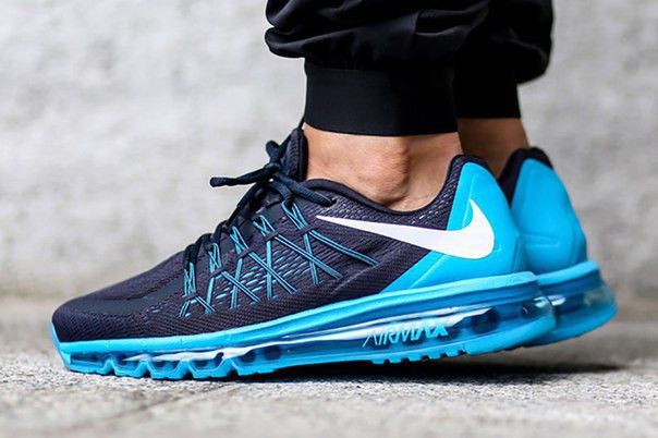 34755c7d8eec Кроссовки NIKE AIR MAX 2015 (DARK OBSIDIAN BLUE LAGOON - Магазин Nike-Shop