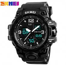 Мужские спортивные водостойкие часы SKMEI (Скмей), черный
