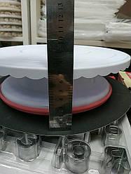 Вращающийся столик для торта с резиновой основой