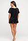 Женская плюшевая пижама футболка и шорты 48-50, фото 2