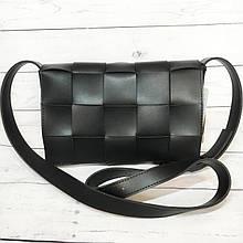 Клатч женский, мини сумка на плечо B.Elit (Би Элит), черный цвет ( код: IBG224B )