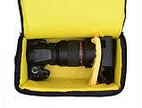 Чехол сумка Nikon, противоударная Фото сумка Никон, фото 8