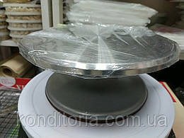 Обертовий столик для торта метал D22 h9cm