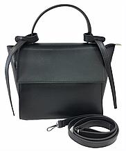 Сумка женская стильная от украинского производителя, черный цвет ( код: IBG229B )