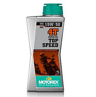 Масло моторне Motorex Top Speed 4T 15W50 (1л)