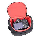 Фото сумка универсальная для фотоаппаратов Canon EOS, Nikon, Sony, Olympus, Кэнон, Никон, Олимпус, Сони, фото 4