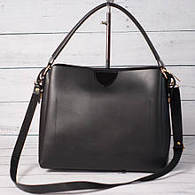Женская классическая сумка, черный цвет
