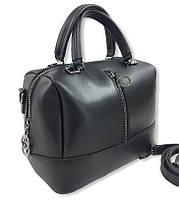 Сумка женская стильная от украинского производителя, цвет черный ( код: IBG232B )