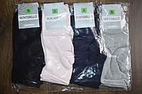 "Носки женские средне-без резинки""New Socks"" р-ры 36-41 (1уп-12 пар) цвета миксом"