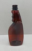 Бутылка ПЭТ 500 мл (0.5л) под триггер (распылитель) коричневая